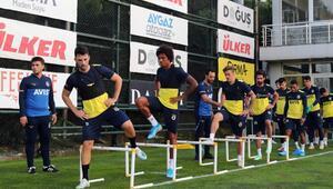 Fenerbahçede Alanyaspor maçı hazırlıkları başladı
