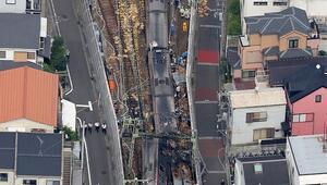Japonyada tren kazası: 30 yaralı