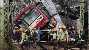 Japonyada tren kazası