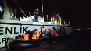 Edirnede 70 kaçak göçmen yakalandı