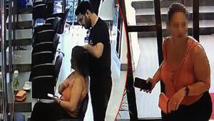 Saç yaptıran kadın ücreti ödemen böyle kaçtı