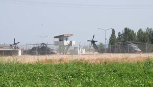Suriye sınırında havadan 3'üncü devriye