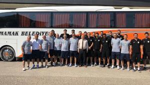Mamak Belediyesi Basketbol Takımı kampa girdi