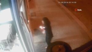 Yaralı haldeki kadını sığındığı iş yeri çalışanları kurtardı
