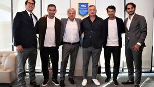 Gürcistan Futbol Federasyonundan TFFye ziyaret