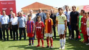 Niğdede U12 Cup turnuvası başladı