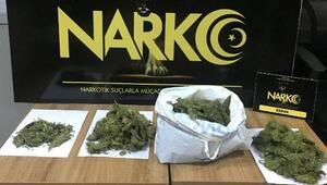Adıyamanda uyuşturucuya 1 gözaltı