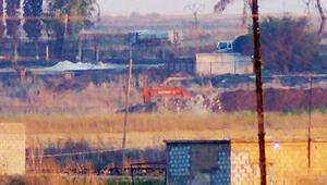 YPG mevzi kazmaya devam ediyor