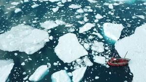 Grönlanddaki bir buzul 15 yılda 100 metre inceldi