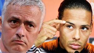 Mourinhodan tartışılan karar Virgil van Dijki istemedi...