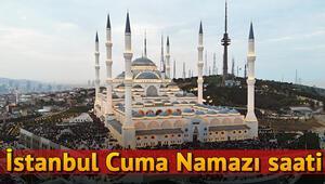 İstanbulda cuma namazı bugün saat kaçta 6 Eylül İstanbul cuma namazı saati