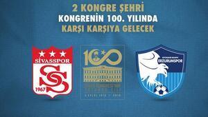 Sivas ve Erzurum kongreleri anısına Yüzüncü yılda dostluk maçı...