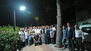 Yenişehir'in cadde ve sokakları aydınlatılıyor