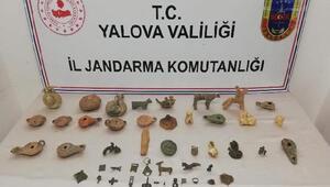 Yalova jandarmasından tarihi eser operasyonu