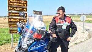 Eyüpsultanda motosikletli jandarma kaza yaptı: 1 şehit