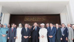 Cumhurbaşkanı Erdoğan, İTÜ Abdülhakim Sancak Camiinin açılışına katıldı