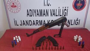 Adıyamanda kaçak silah operasyonu