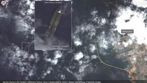 John Bolton, Adrian Darya gemisine ait olduğunu iddia ettiği uydu fotoğrafını paylaştı