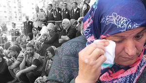 Diyarbakırda bekleyiş sürüyor Aile sayısı 13e çıktı