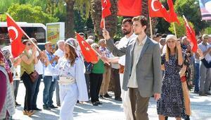 Turgutluda kurtuluş günü kutlaması