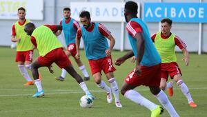 Sivassporda Başakşehir hazırlıkları sürüyor