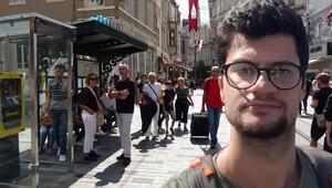 İstiklal Caddesinde dehşet Durakta oturan Haliti öldürdüler