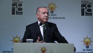 Son dakika: Cumhurbaşkanı Erdoğandan Eskişehirde önemli açıklamalar