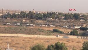 ABD konvoyunun Suriyedeki hareketliliği gündüz görüntülendi