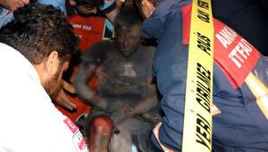 Ankarada hırsızlık için girdiği trafoda akıma kapıldı