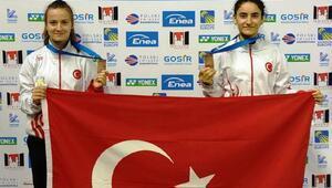 Badmintonda milliler, Avrupa Şampiyonasını 2 bronzla tamamladı