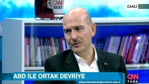Bakan Soylu'dan CNN Türk'te ortak devriye ile ilgili ilk açıklama