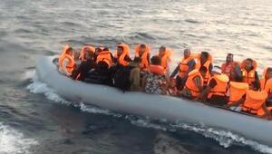 Çeşmede 147 kaçak göçmen yakalandı