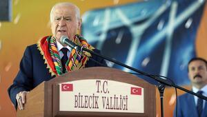 MHP lideri Bahçeli, Söğütte önemli mesajlar verdi