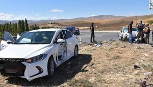Sivasta otomobiller çarpıştı: 6 yaralı
