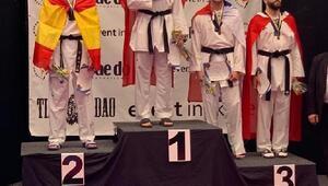 Ümitlerden Taekwondo Şampiyonasının son gününde 2si altın, 4 madalya