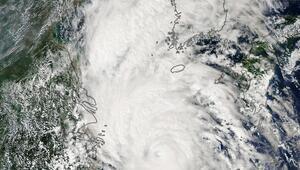 Kore Yarımadasını tayfun vurdu