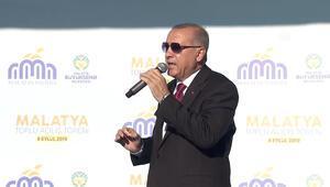 Cumhurbaşkanı Erdoğan'dan Malatyada flaş sözler