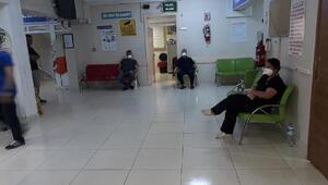 Menenjit şüphesi nedeniyle hastane karantina altına alındı