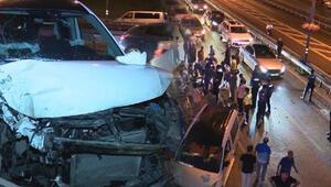 Son dakika... Şirinevlerde zincirleme kaza Bir kişi öldü, 3 kişi de yaralandı