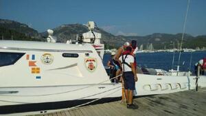 Teknedeki yaralının yardımına, Sahil Güvenlik ekibi yetişti