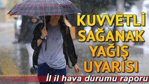 Bugün hava durumu nasıl Meteorolojiden İstanbul, Ankara, İzmir ve bütün illerin hava durumu raporları