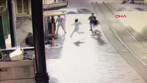 Dehşetin güvenlik kamerası görüntüleri ortaya çıktı