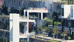 Bodrumda milyon dolarlık projede yeni gelişme 15 günde yıkılamayan asansörü, Bakanlık 2 günde yıktı