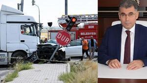 Son dakika... Hatay Emniyet Müdürü Kamil Karabörk trafik kazası geçirdi Eşi hayatını kaybetti