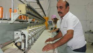 Çinden dönüp memleketi Nusaybine fabrika kurdu