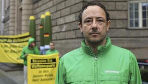 Greenpeace'ten Almanya'ya füzeli protesto