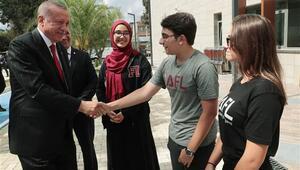 Cumhurbaşkanı Erdoğan, Kadıköyde Atatürk Fen Lisesinde Eğitim Öğretim Yılının Açılış Törenine katıldı
