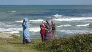 Denizde kaybolan Emirhan için kıyı şeridi tarandı