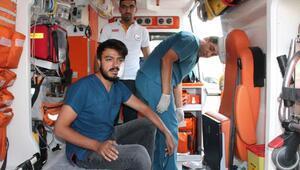 Erkek kardeşlerden hemşireye, poliklinikte yumruklu saldırı
