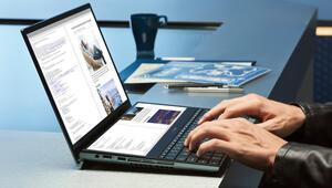 Dünyanın ilk 4K ve OLED çift ekranlı dizüstü bilgisayarı Türkiyede satışa çıktı
